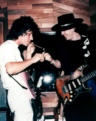 Jeff Beck SRV Stevie Ray